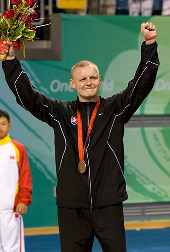 Bronzová medaila Miroslav Jambor