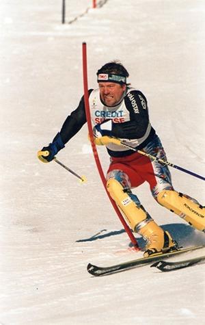 Jozef Miština na lyžiach